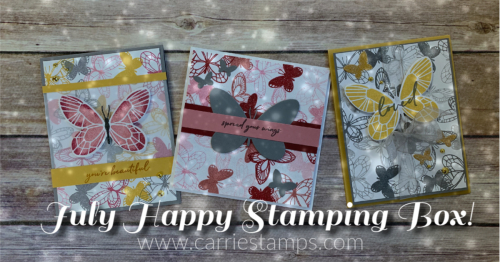 Jan Happy Stamping Box