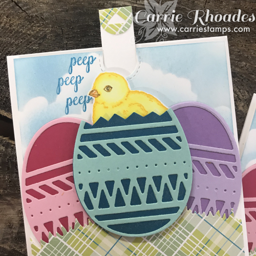 Pop up chick card 2