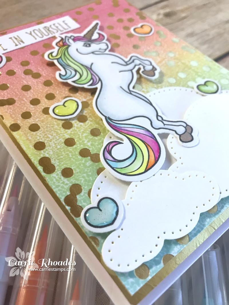 Rainbow glimmer unicorn 2