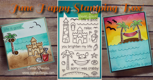 June Happy Stamping Box