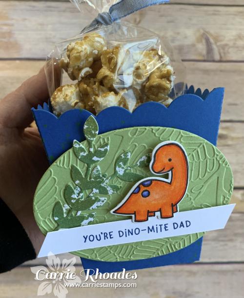 Dino dad popcorn box 3