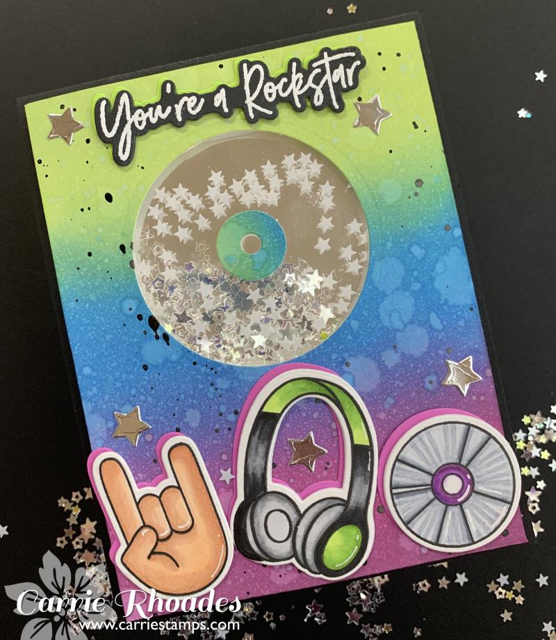 Rockstar CD shaker