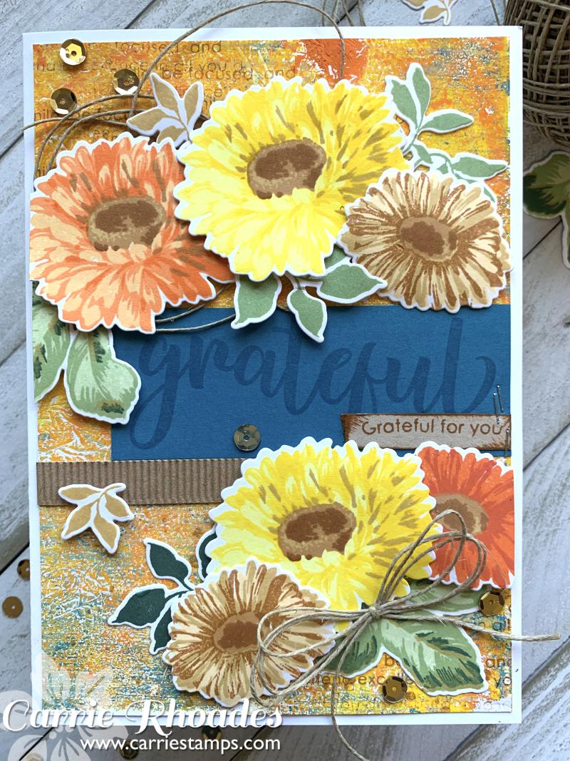 Large Sunflower Daisy Card 2