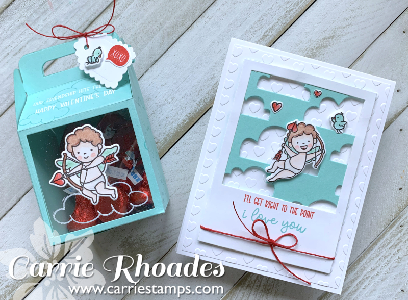 Cupids Card and Box