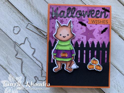 Foxy halloween sweater