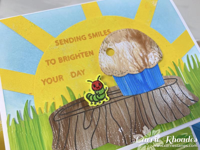 Caterpillar card 1