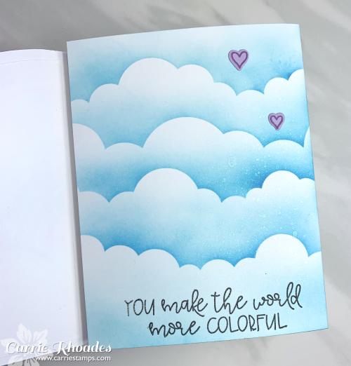 Rainbow shape cards 4