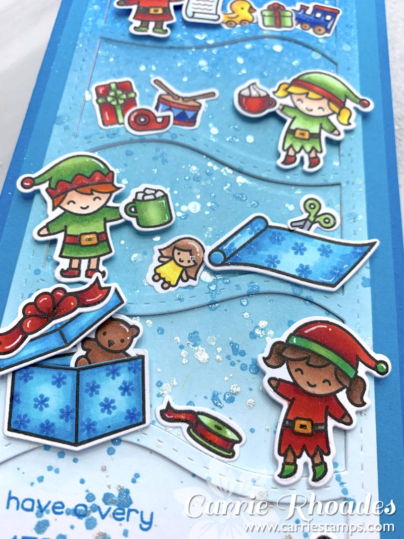 Holiday helpers slimline 3