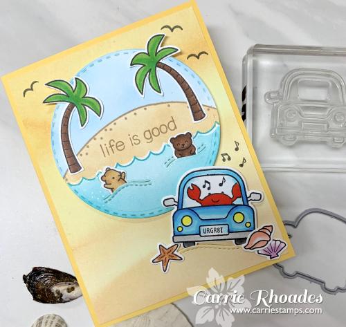 Car critters mini scene
