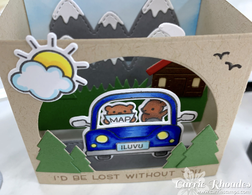 Car critters shadow box 2