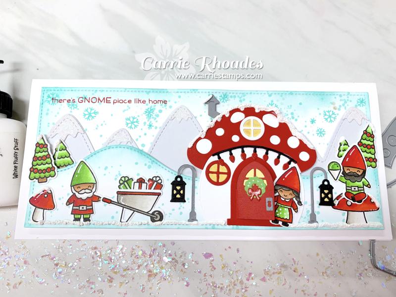 Oh Gnome Slimline Christmas 1