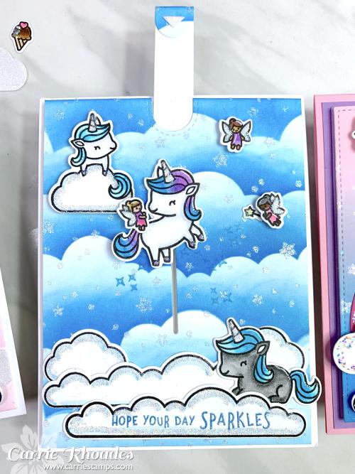 Unicorn picnic glitter 5