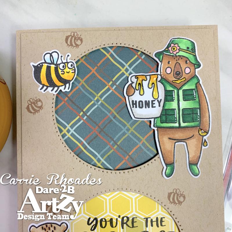 Honey bear slimline 4