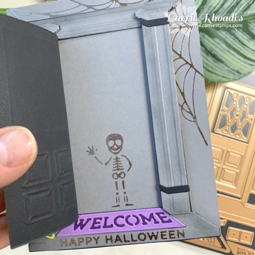 Always welcome halloween door 2