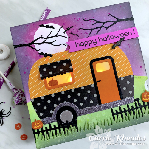 Halloween camper light up