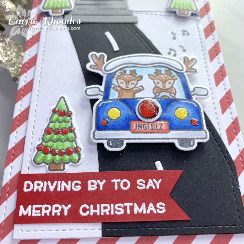 Christmas car critters 2
