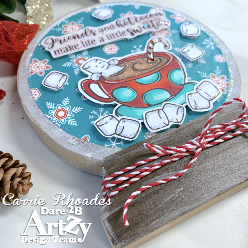 Crazy for cocoa snowglobe 3