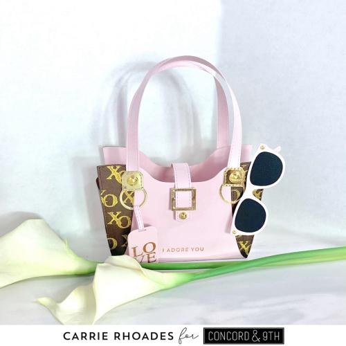 Designer weekender handbag 1