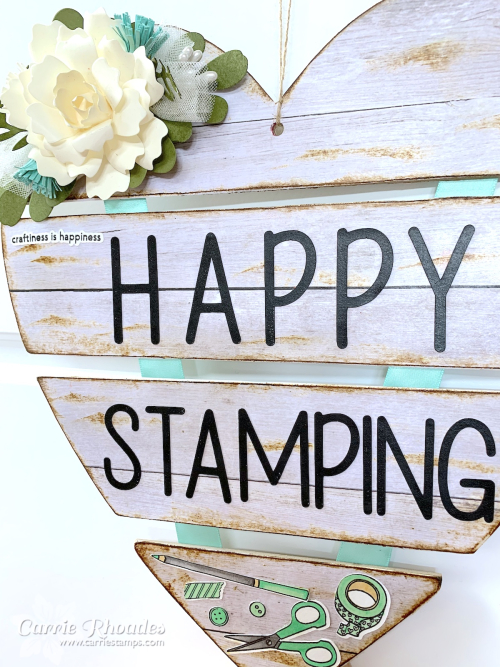 Happy stamping heart 6