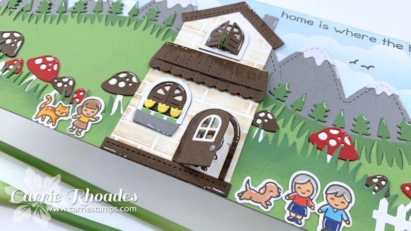 Tiny friends house 1