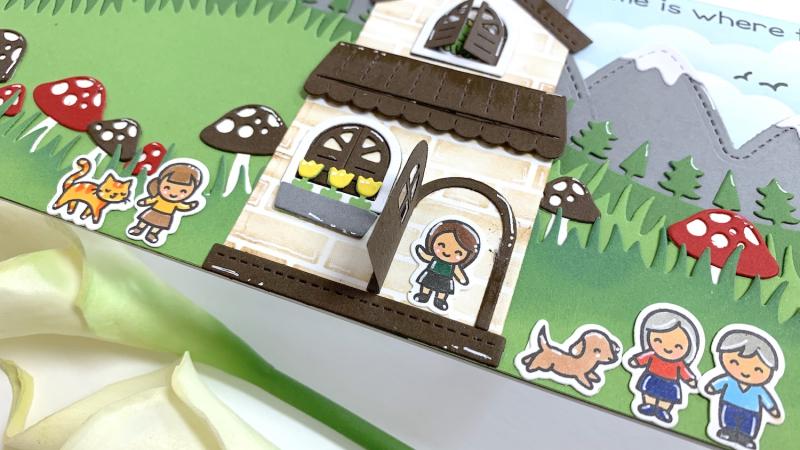 Tiny friends house 3