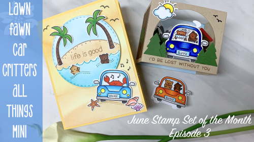 Mini Car Critters Cover