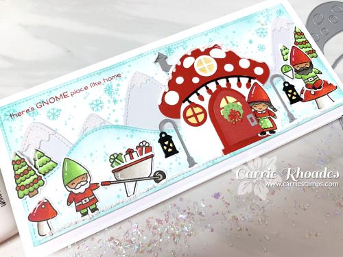 Oh Gnome Slimline Christmas 3