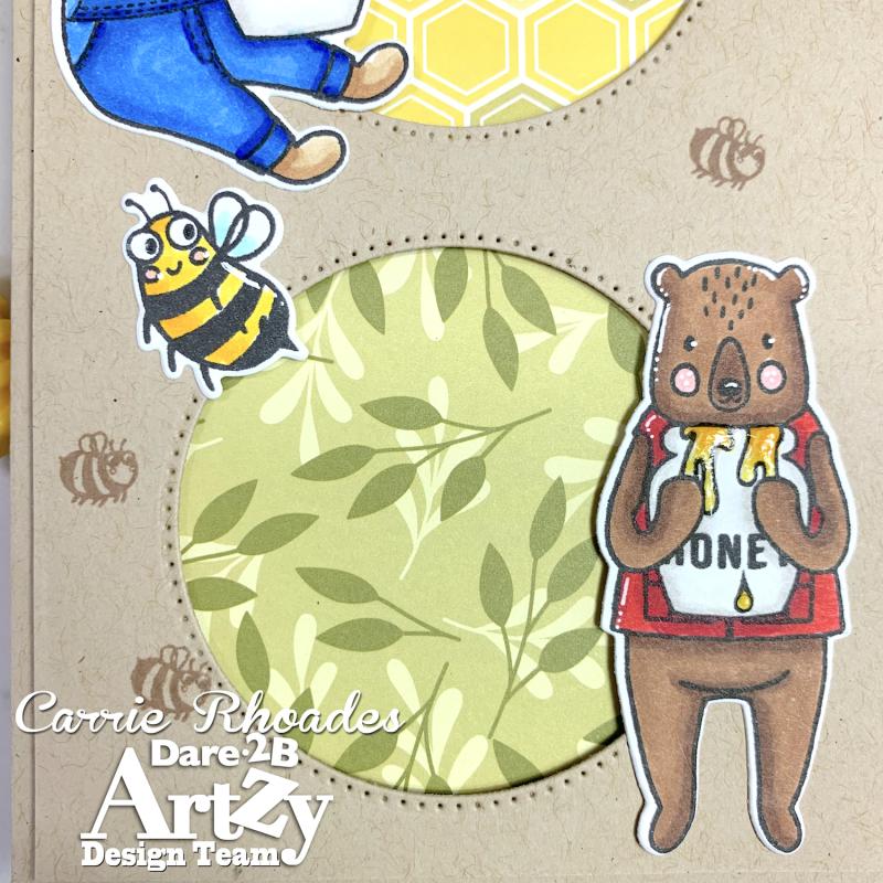 Honey bear slimline 6