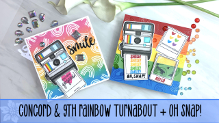 Rainbow Turnabout Embossed cover