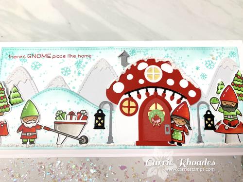 Oh Gnome Slimline Christmas 2