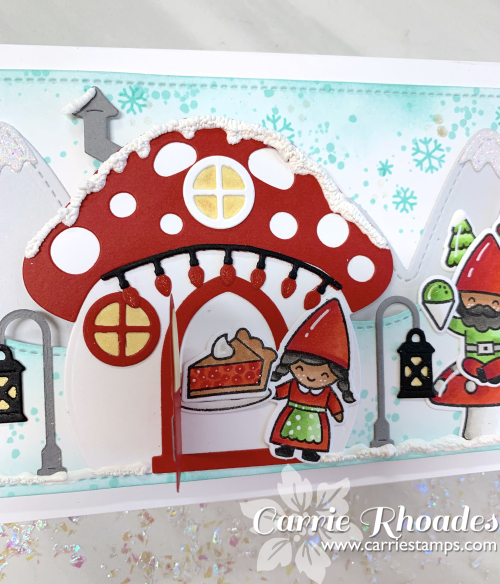 Oh Gnome Slimline Christmas 5