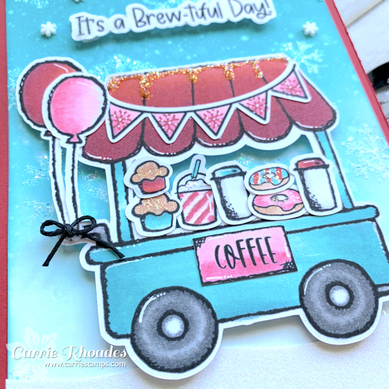 Digi coffee cart