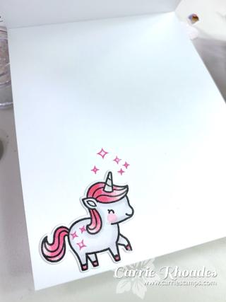 Unicorn picnic glitter 9