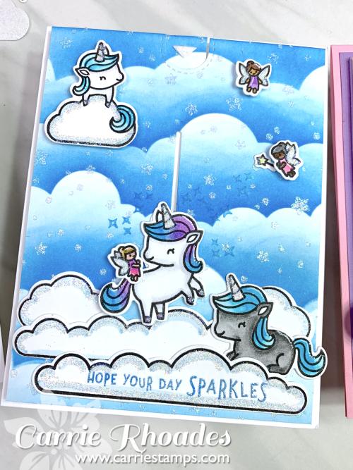Unicorn picnic glitter 4