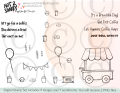 Coffee cart printout sheet watermark