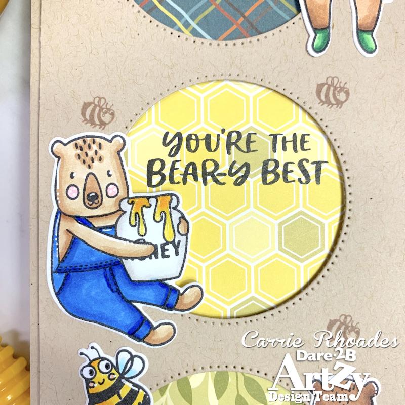 Honey bear slimline 5