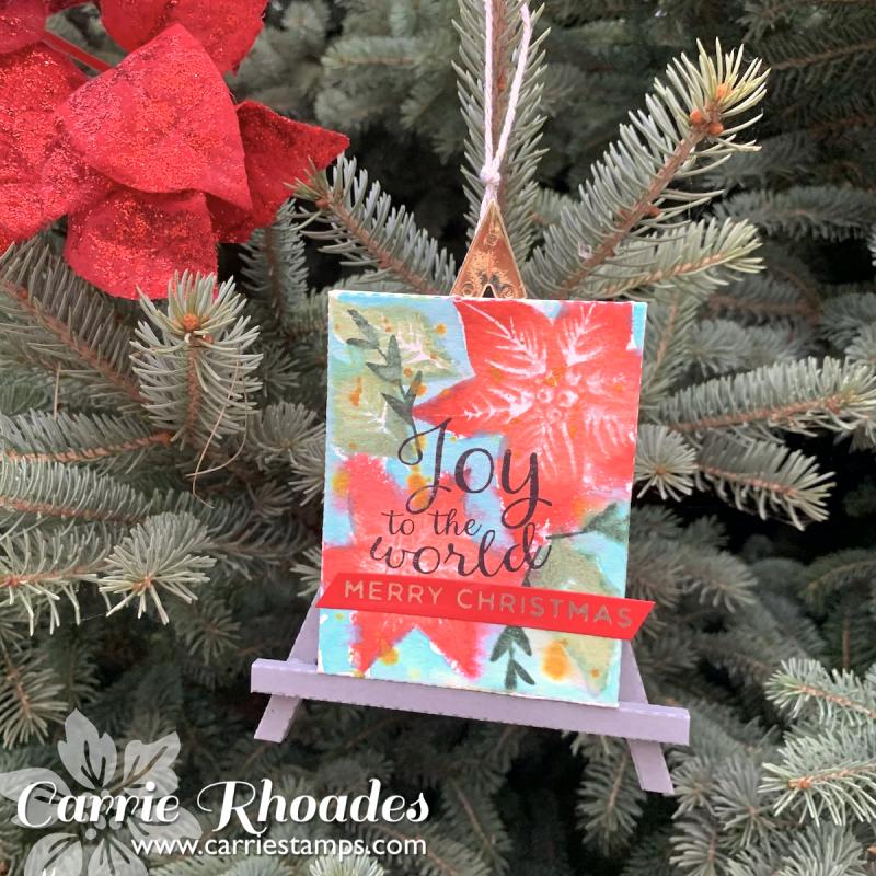 Easel ornaments 2