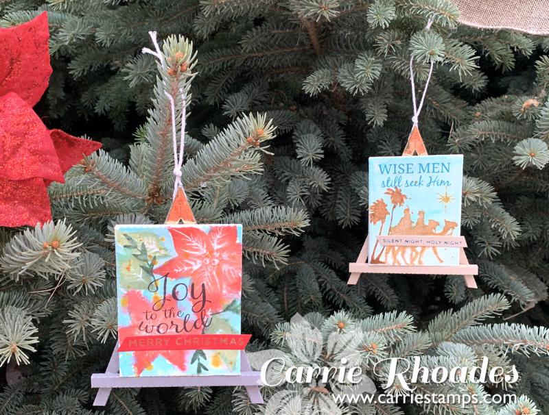 Easel ornaments 5