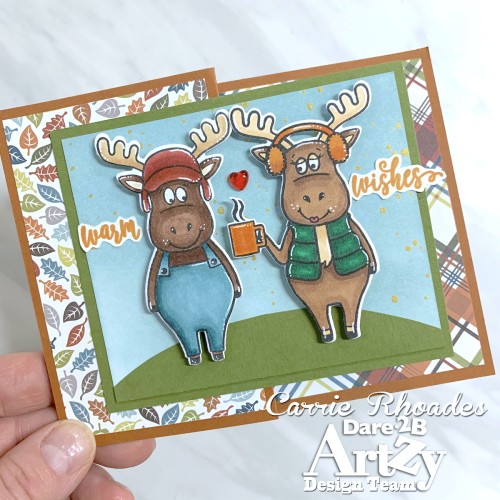 Fall Challenge Moose Card