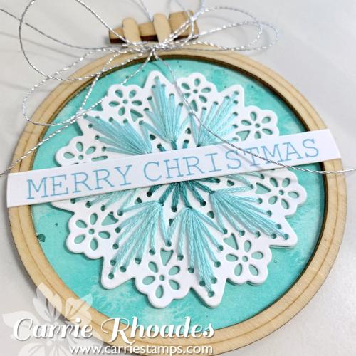 Merry stitching 5