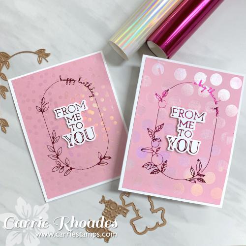 Glimer Mix & Match pink