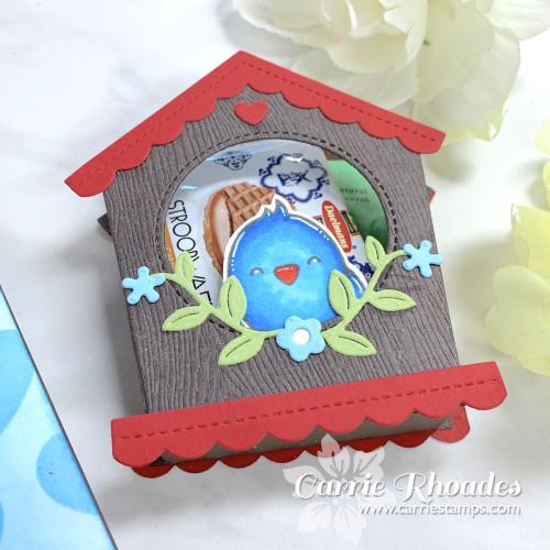 Special delivery birdhouse 2