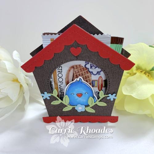 Special delivery birdhouse 4