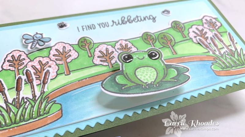 Feeling froggy mini slimline 4