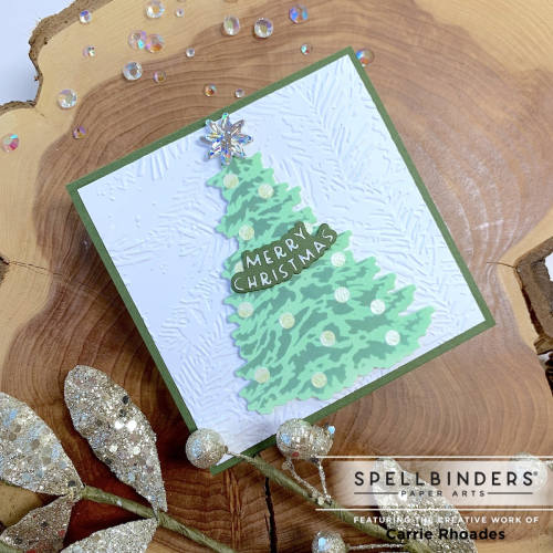 Trim the tree square carrie rhoades