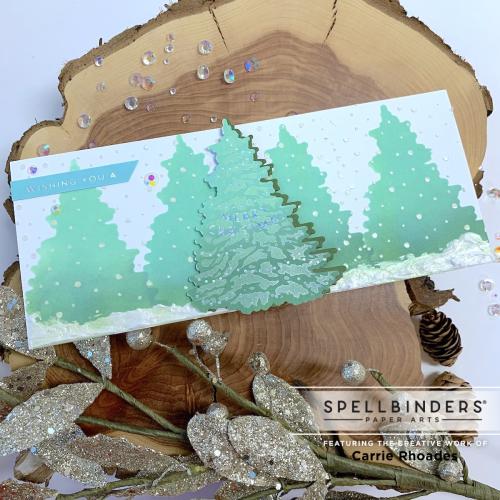 Trim the tree slimline carrie rhoades