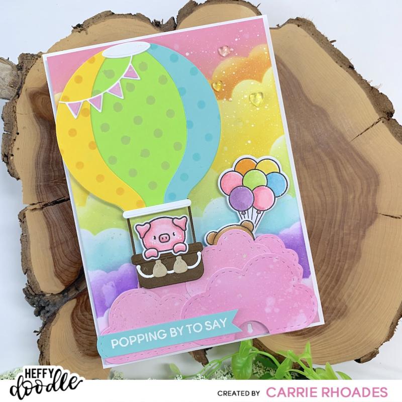 Pop Up Balloon hop card 1