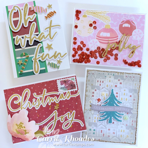 All Aboard Cards 4 - Carrie Rhoades