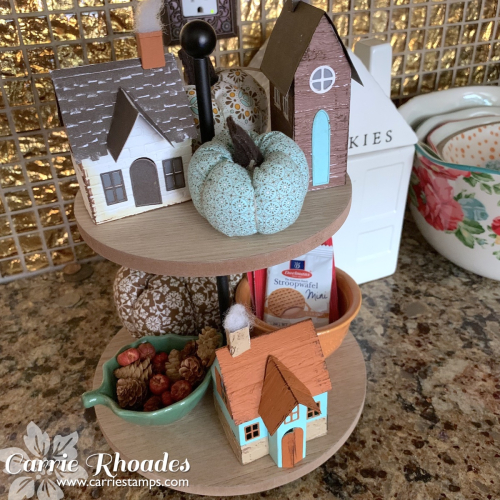 Village collection fall houses _Carrie Rhoades