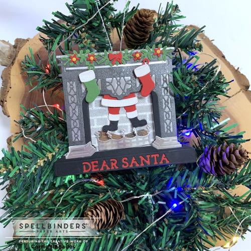 Santa's fireplace 5